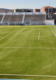 Artificial turf football stadium Izola