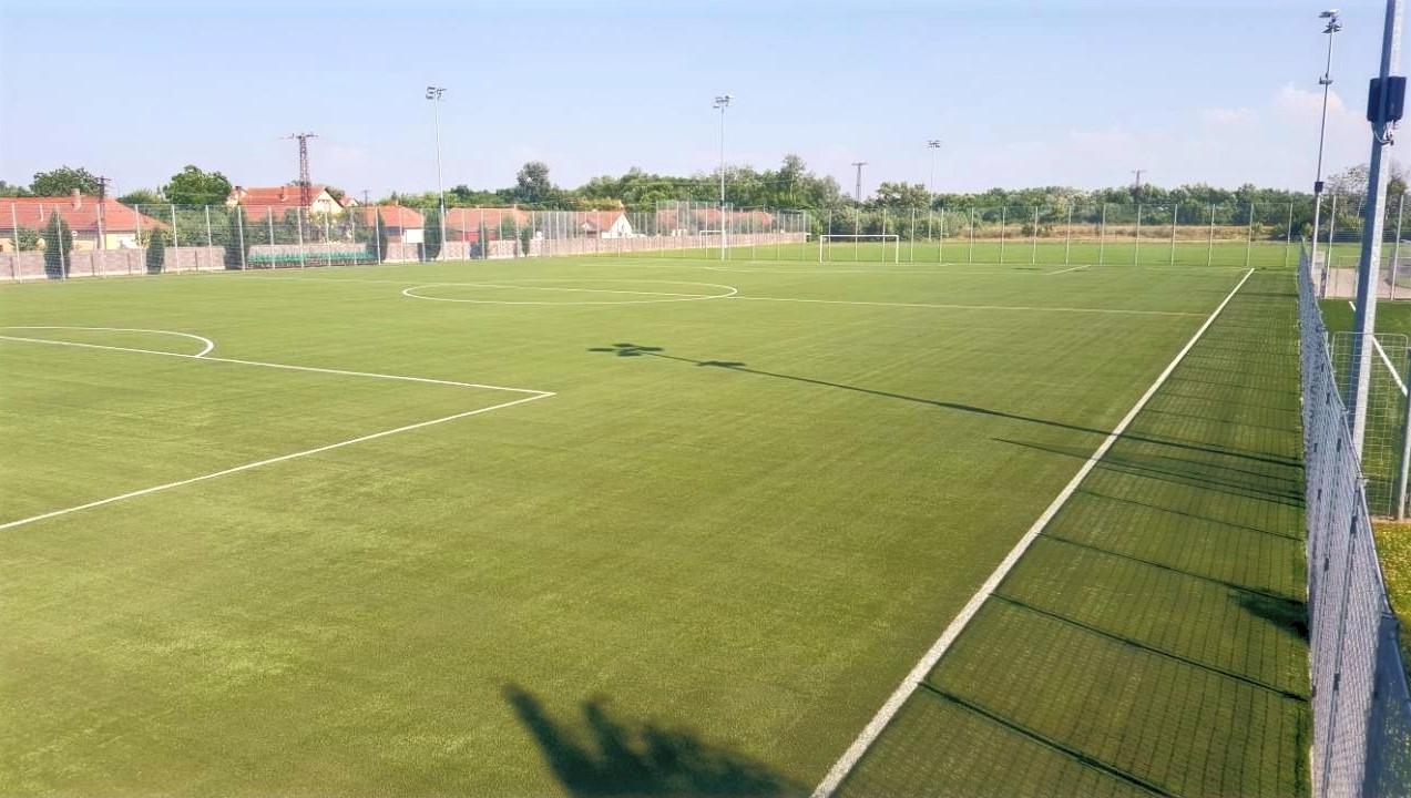Artificial turf football fieldGyula