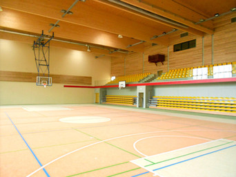 Indoor sports infrastructure
