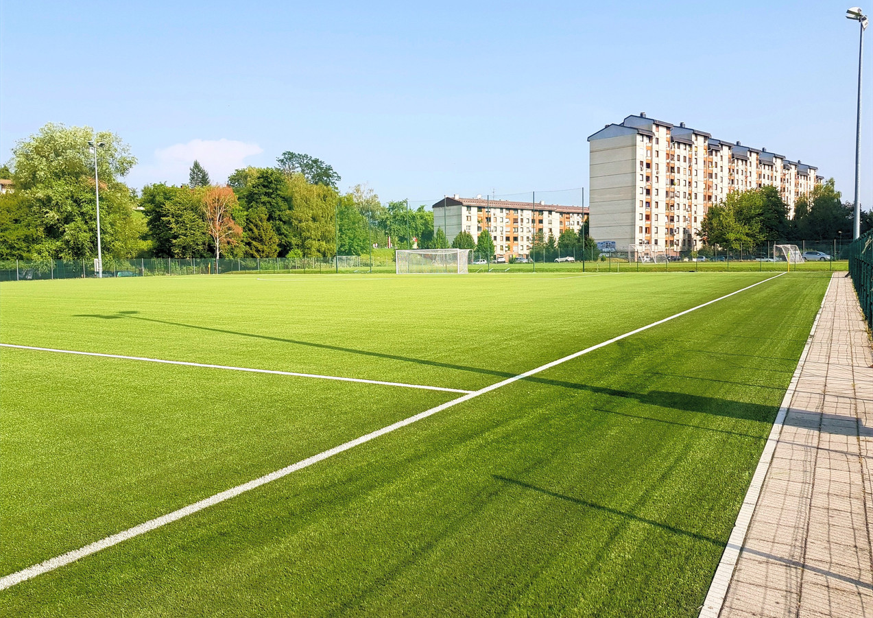 Artificial turf football fieldCelje