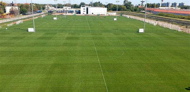 Hybrid football field training centre Sz