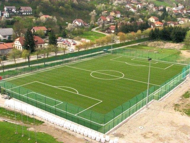 Artificial turf football fieldKrsko