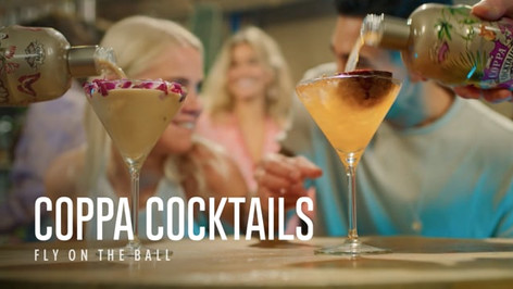 Coppa Cocktails new campagne commercial