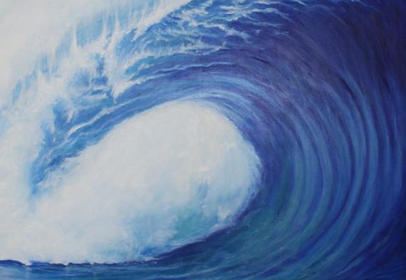 Azul inmensidad  |  Blue vastness