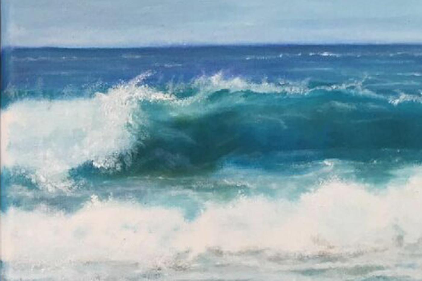 Mirando el mar     Staring the Sea