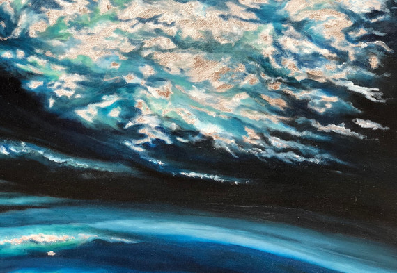 Emergiendo hacia la luz  |  Emerging towards the light