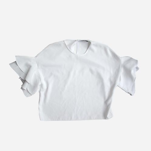 Zara Wide Sleeve Blouse S