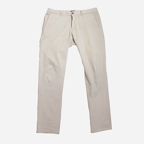 Scotch & Soda Beige Brushed Cotton Chinos W32 L29