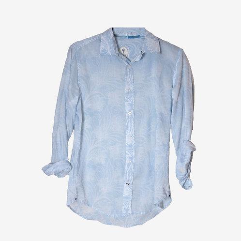 Ganesh Light Blue Shirt L