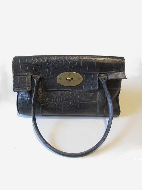 Mulberry Croc Embossed Ledbury Bag