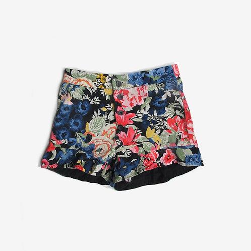 Zara Floral Shorts S