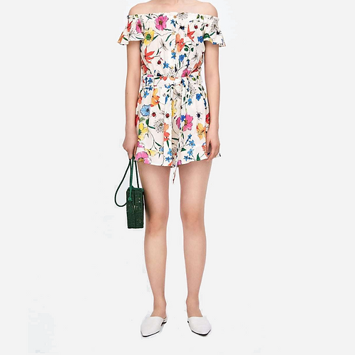 Zara Floral Playsuit S