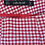 Thumbnail: Zara Red Check Shorts S