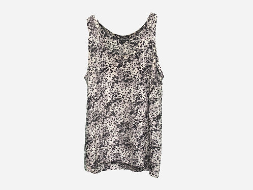 Theory Patterned Printed Top XS