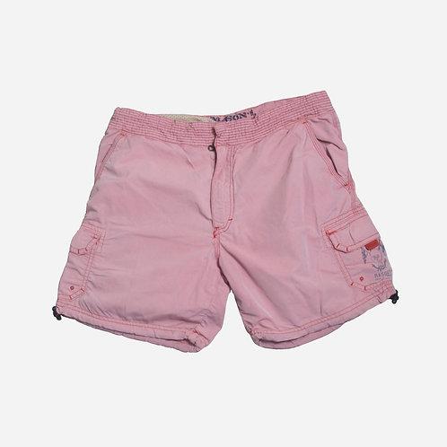 Mason's Cargo Pink Swim Shorts M