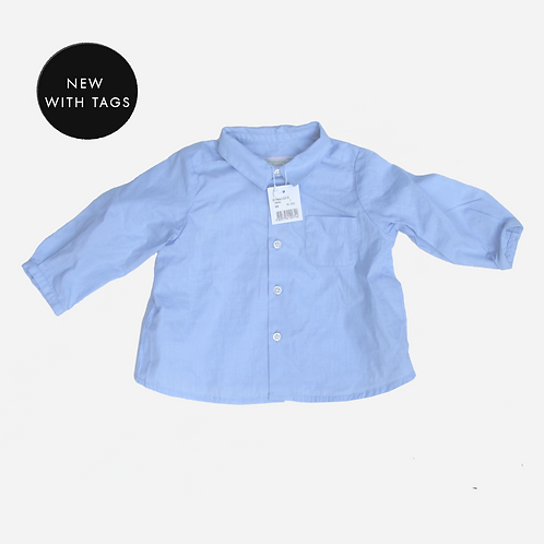 Baby Boys Bonpoint Blue Shirt 6M