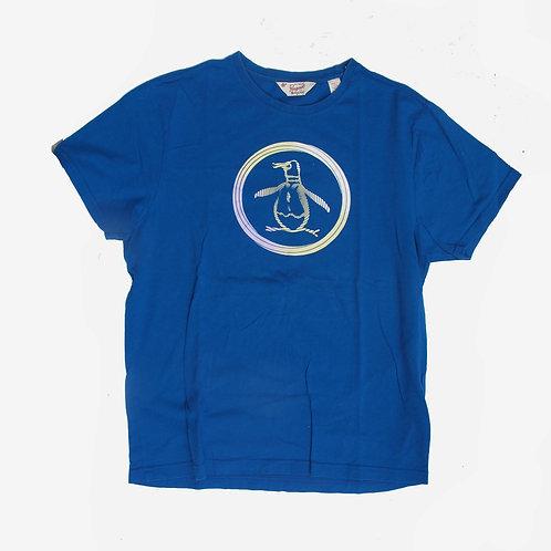 Penguin blue t-shirt L