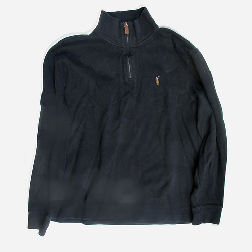 Polo by Ralph Lauren Black Polo-Neck Sweater M