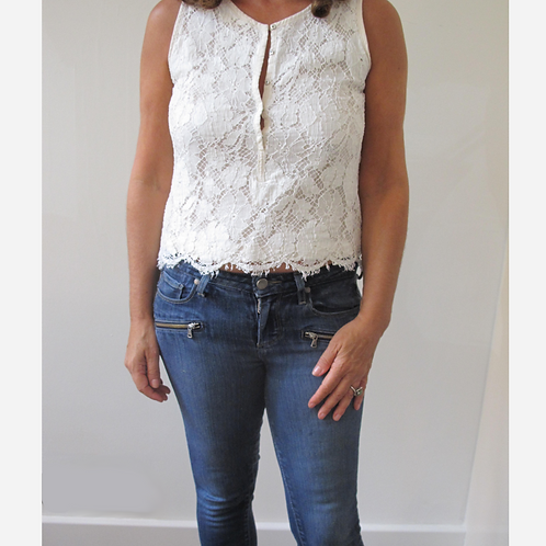 Sandro Lace Top S/M