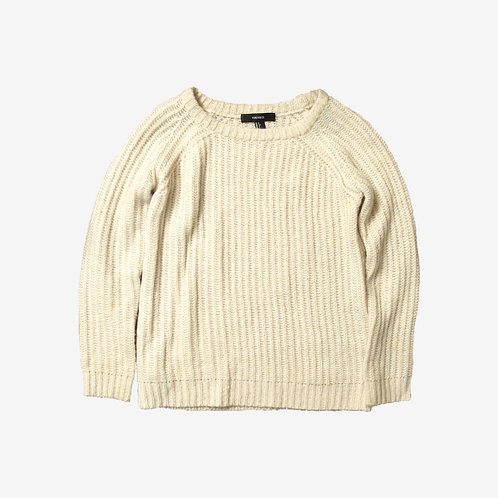 Forever 21 Cosy Cream Knit Jumper S
