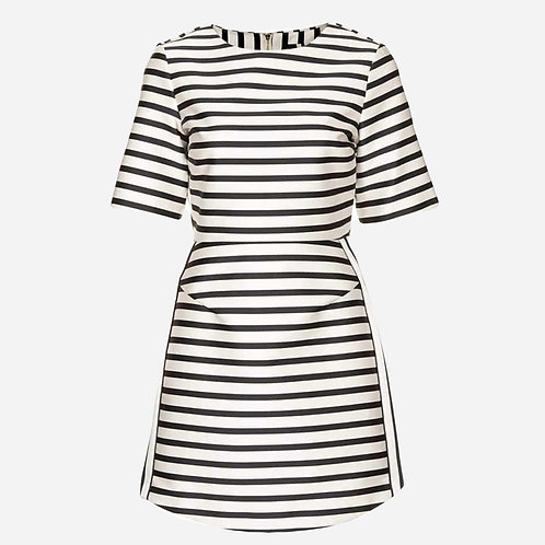 Topshop Nautical Satin Dress M