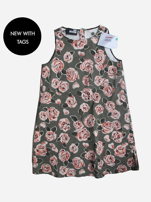Love Moschino Floral Print Dress M