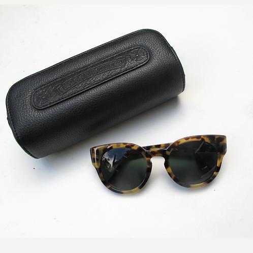 Chrome Hearts Tortoise Shell Sunglasses
