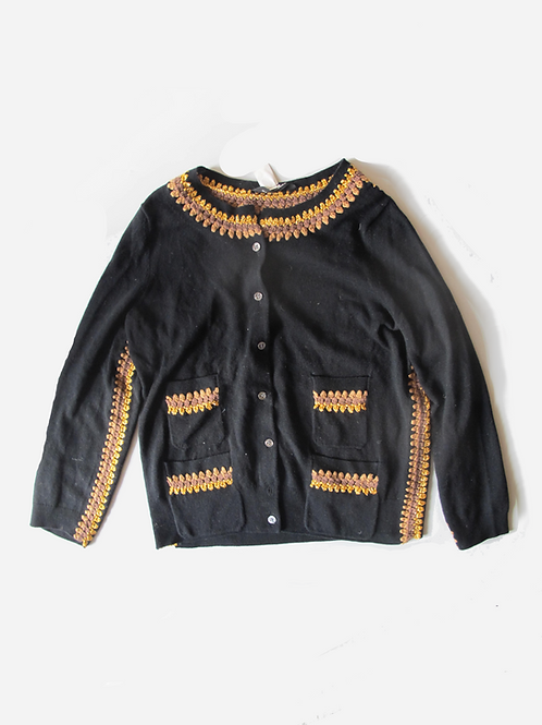 Marc Jacobs Black Cashmere Cardigan