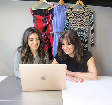 Luxury second-hand clothes, mother & daughter team
