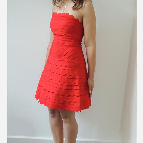 House of CB Red Bandage Dress M