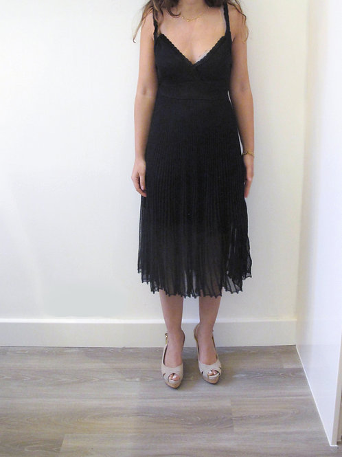 Maje Pleated Dress S/M