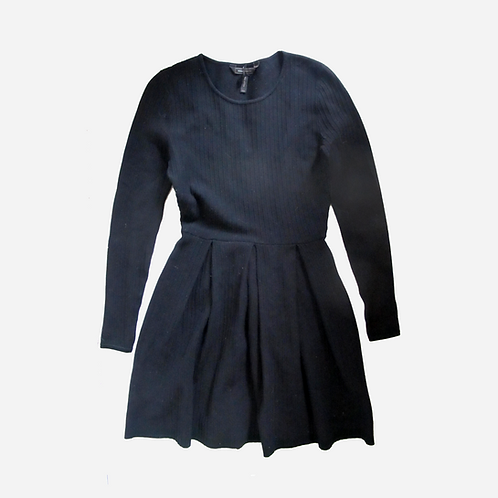 BCBG Maxazria Black Flare Dress XXS