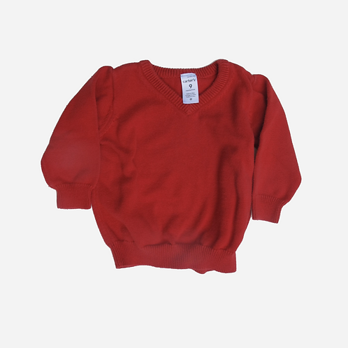 Baby Boys Carter's Red Sweater 9M