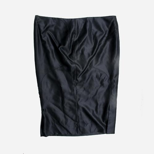 Alexander Mcqueen Black Pencil Skirt M