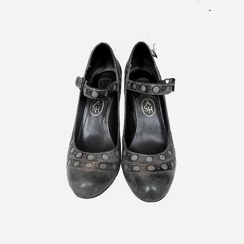 Ash Grey Heels 39