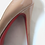 Thumbnail: Christian Louboutin Very Prive Nude Patent Heels UK 5.5
