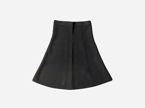 Zara Black Flared Skirt XS