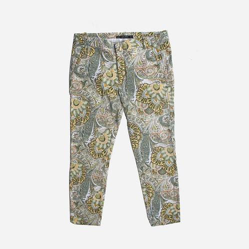 Zara Paisley Trousers M