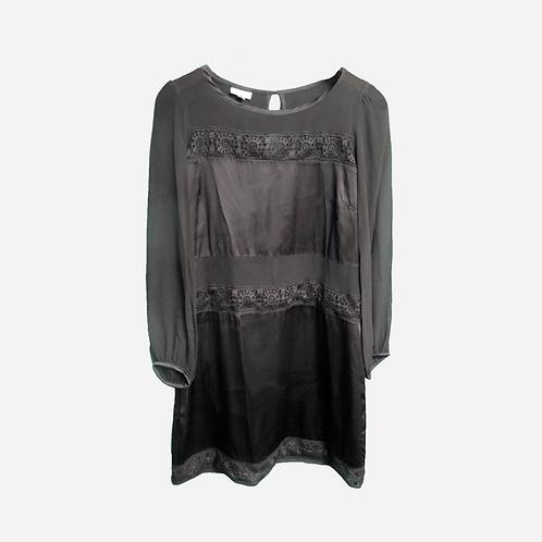 Luminess Black Silk Dress M