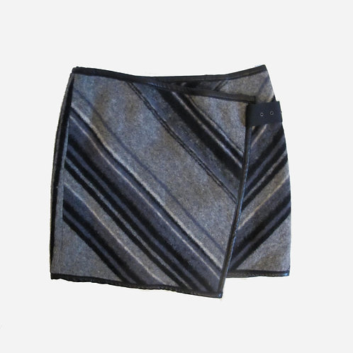 Matthew Williamson Wool Wrap Skirt S