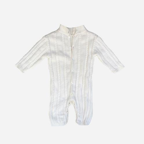 Unisex Love in Kyo Knitted Onesie 6M