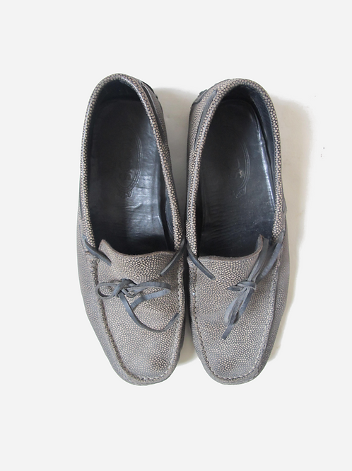 Tod's Textured Loafers UK  8