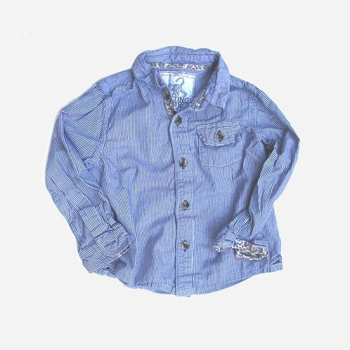 Toddler Boys Nottinghill 1973 Striped Shirt 2-3T