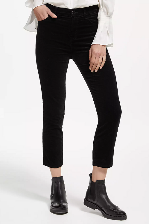 J Brand Ruby Velour Cropped Trousers 24""