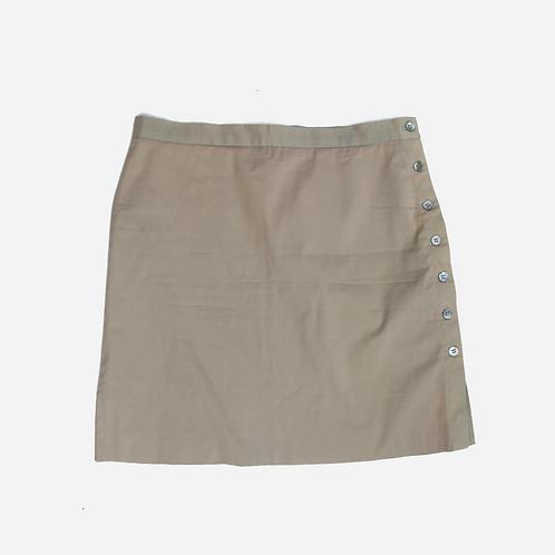 BCBG Max Mara Beige Mini Skirt M