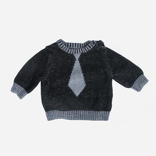 Baby Boy's Gap Grey Sweater 3-6M