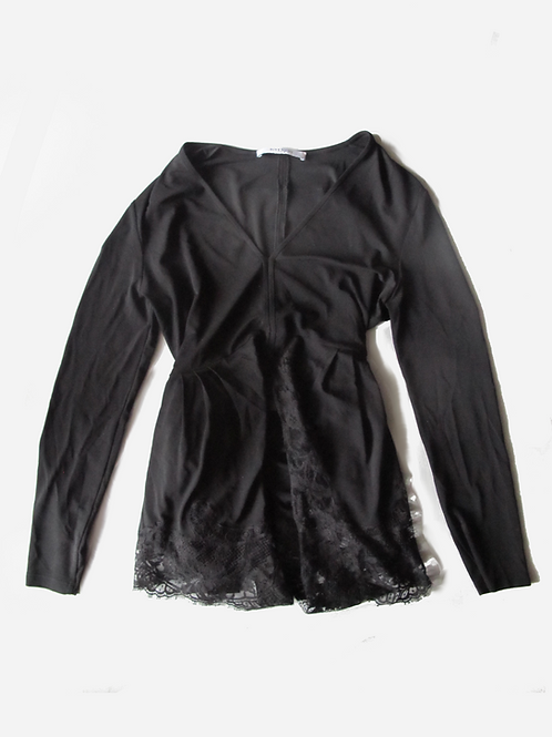 Givenchy Black Lace Top UK 10