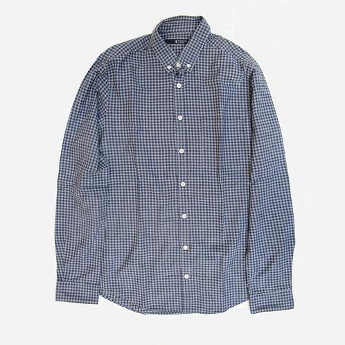 Tiger of Sweden Blue Check Shirt