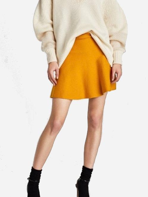 Zara Yellow Skirt S