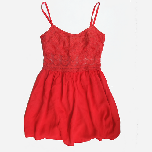 Topshop Coral Summer Dress S